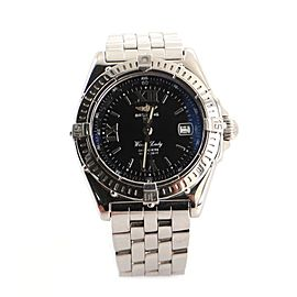 Breitling Wings Lady Quartz Watch Stainless Steel 31