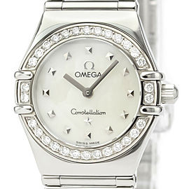 OMEGA Constellation Stainless steel My Choice Diamond MOP Dial Watch