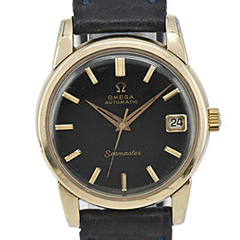 OMEGA Seamaster GP/Leather Cal.565 Automatic Men's Watch
