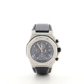 Audemars Piguet Royal Oak Offshore Chronograph Automatic Watch Stainless Steel and Alligator 42