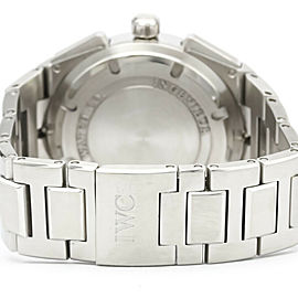 Polished IWC Stainless Steel Ingenieur Chronograph Watch HK-2064
