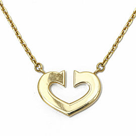 CARTIER 18K Gold Necklace CHAT-241