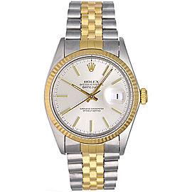 Rolex Datejust 16013 2-Tone Steel & Gold 36mm Mens Watch