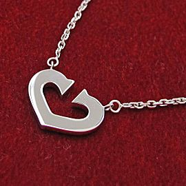 Cartier C Heart Necklace
