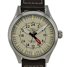 BALLWATCH Engineer 2 GM1086C SS/Leather Automatic Men's Watch