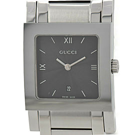 GUCCI 7900M.1 black Dial SS Date Quartz Ladies Watch