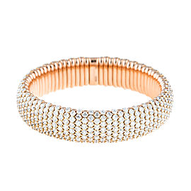 Stretch Collection 18K Gold Diamonds Bracelet