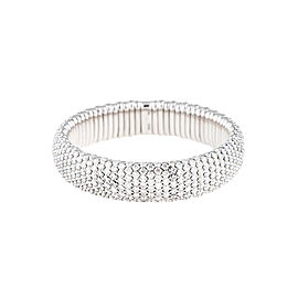 Stretch Collection 18K White Gold Diamonds Bracelet