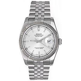 Rolex Datejust 116234 Stainless Steel 36mm Mens Watch