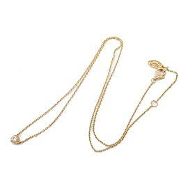 Cartier 18K Pink gold Diamant Leger Diamond necklace rcb-19