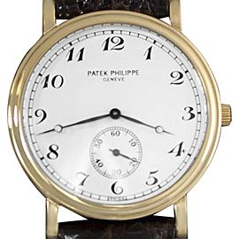 Patek Philippe Officer's Watches 5022J 33mm Mens Watch