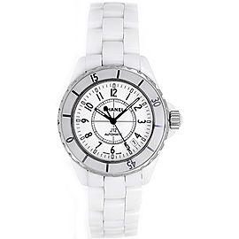 Chanel J12 H0970 White Ceramic Quartz 33mm Unisex Watch