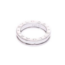 Bulgari 18K White Gold B-Zero 1 Ring Size 5