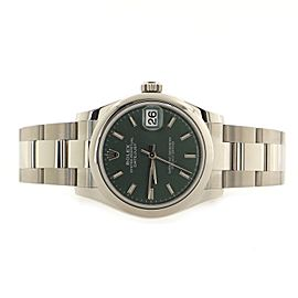 Rolex Oyster Perpetual Datejust Automatic Watch Stainless Steel