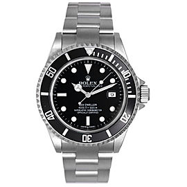 Rolex Sea Dweller 16600 Stainless Steel Divers 40mm Mens Watch