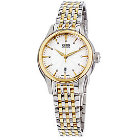 Oris Artelier 56176874351MB 31mm Womens Watch