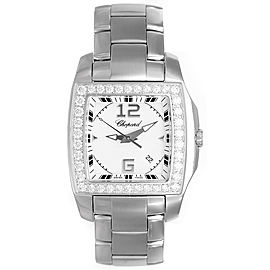 Chopard Two-O-Ten 108464-2001 Stainless Steel & White Gold Diamond 34mm Unisex Watch