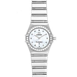 Omega Constellation My Choice Mini Diamond Steel Watch 1465.71.00