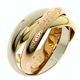 CARTIER 3 Gold Trinity Ring