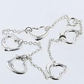 TIFFANY & Co. Silver Five open hearts bracelet