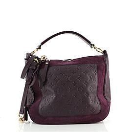 Louis Vuitton Audacieuse Handbag Monogram Empreinte Leather PM