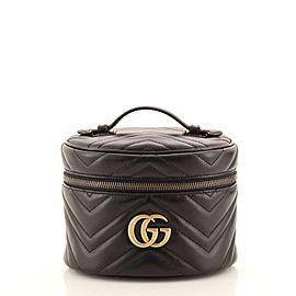 Gucci GG Marmont Vanity Backpack Matelasse Leather Mini