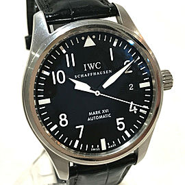 IWC IW325501 Stainless Steel/Leather belt Mark 16 Wrist watch