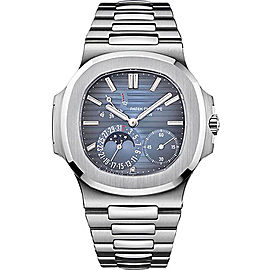 Patek Philippe 5712/1A-001 Stainless Steel with Blue Dial 40mm Mens Watch