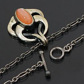 GEORG JENSEN Moonstone Year Pendant Necklace