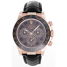 Rolex Cosmograph Daytona 116515 18K Rose Gold 40mm Mens Watch