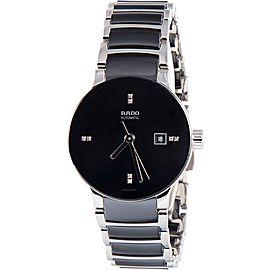Rado Centrix R30942702 Stainless Steel with Diamond Automatic 28mm Womens Watch