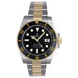 Rolex Submariner 116613 Stainless Steel and 18K Yellow Gold 40mm Mens Watch