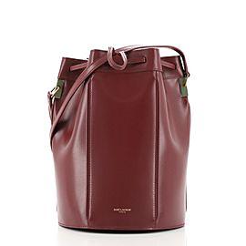 Saint Laurent Talitha Bucket Bag Leather Medium