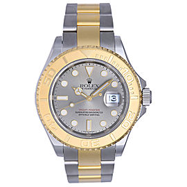 Rolex Yacht-Master 16623 2-Tone Steel & Gold Gray Dial 40mm Mens Watch