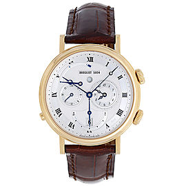 Breguet Le Réveil du Tsar 5707BA/12/9V6 18K Yellow Gold & Leather Automatic 39mm Men's Watch