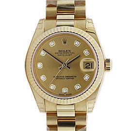 Rolex Datejust 178278 31mm Unisex Watch