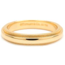 Tiffany & Co. Yellow Gold Milgrain Band Ring