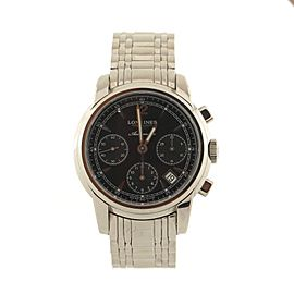 Longines Saint-Imier Chronograph Automatic Watch Stainless Steel 39