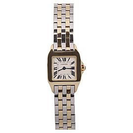 Cartier Santos Demoiselle 18K Yellow Gold & Stainless Steel 22mm Watch