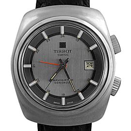 Tissot Navigator Sonogram 40530-1X 37mm x 43mm Mens Watch