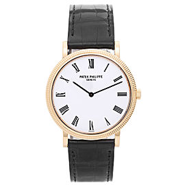 Patek Philippe Calatrava 5120 J 18K Yellow Gold Automatic 35mm Mens Watch