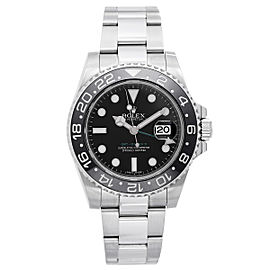Rolex GMT-Master II 116710LN Stainless Steel Automatic 40mm Mens Watch