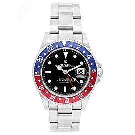 Rolex GMT - Master II 16710 Stainless Steel 40mm Mens Watch