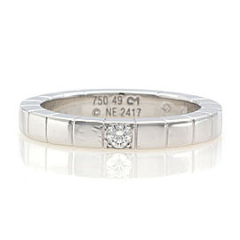 CARTIER 18K white gold Diamond Lanier Ring CHAT-934