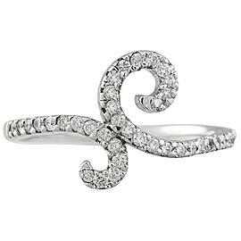 0.40 Carat 14K White Gold Diamond Ring