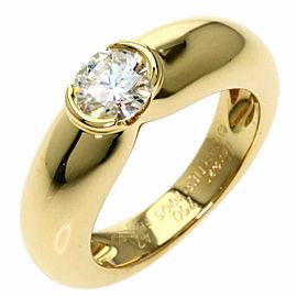 CARTIER 18k Yellow Gold C de Cartier Solitaire Ring
