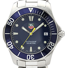 TAG HEUER Aquaracer Stainless Steel Quartz Mens Watch WAB1112