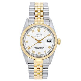 Rolex Datejust 16013 2-Tone Stainless Steel and 18K Yellow Gold 36mm Mens Watch