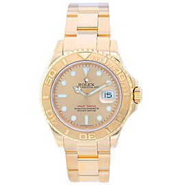 Rolex Yacht Master 16628 18K Yellow Gold Automatic 40mm Mens Watch