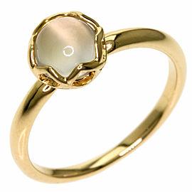 4℃ 18k Pink Gold Moonstone Ring